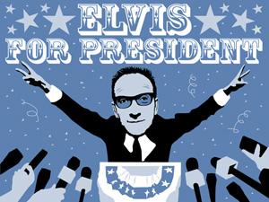 Piensa en Elvis cuando tengas dudas